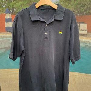 MASTER AMEN CORNER s/s Polo Shirt Black XL